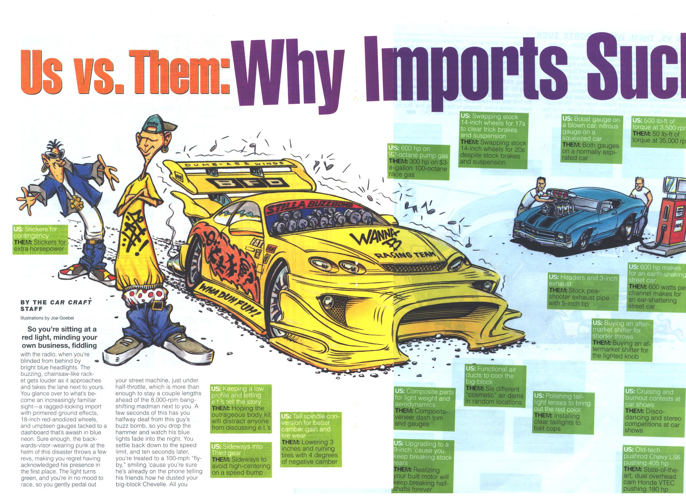 Import Cars Suck 8